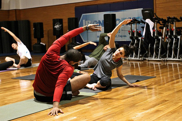 Stretchen und Dehnen bei Sport und Workouts